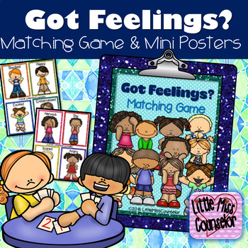 Got Feelings?  Matching Game with 24 Cards