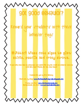 Got Good Behavior: Behavior Tags