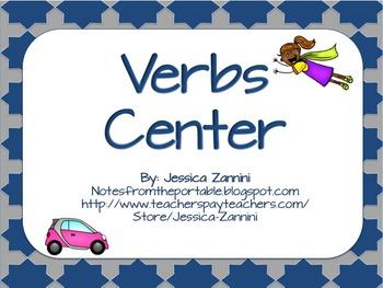 Got Grammar: Verb Literacy Center