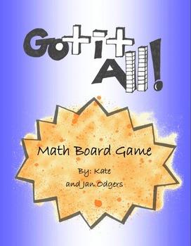 Got It All - Math Board Game