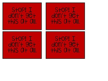Got It? Cards