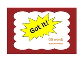 Got It! OR Words Phonics Game