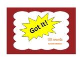Got It!  UR Words Phonics Game