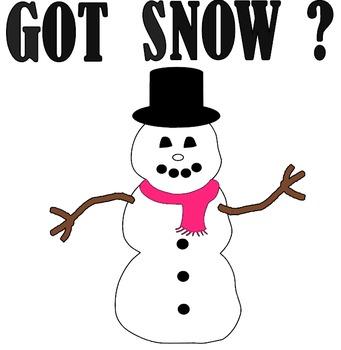 Got Snow Snowman SVG