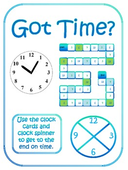 Got Time? (5 min intervals)