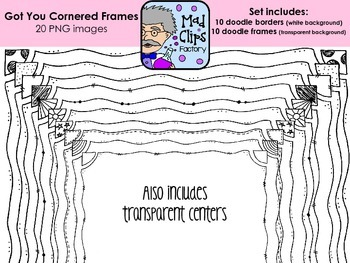 Got You Cornered Frames