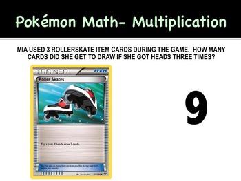 Pokemon Math Task Cards/ Group Math Instruction