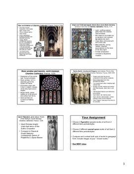 Gothic Art Notes