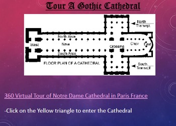 Gothic Cathedral Webquest