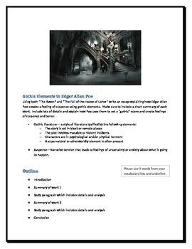 Gothic Elements in Edgar Allan Poe