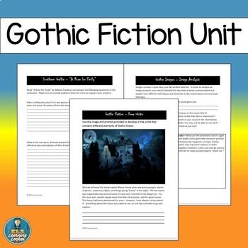 Gothic Fiction Unit