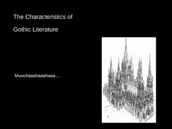 Dark Romanticism: Gothic Literature - Background Powerpoint