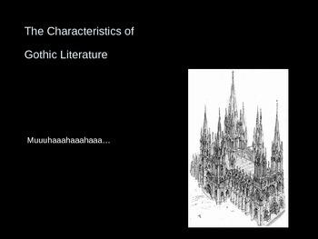 Dark Romanticism: Gothic Literature - Background Powerpoint