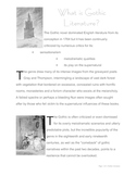 Gothic Literature ENGLISH -  Notes