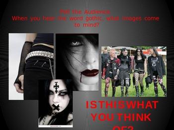 Gothic Literature Introduction PPT
