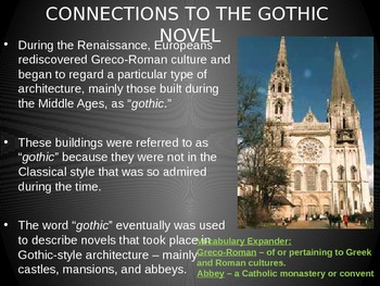 Gothic Literature Introduction PPT
