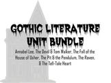 Gothic Literature Product Bundle