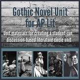 Gothic Novel Unit for AP Lit