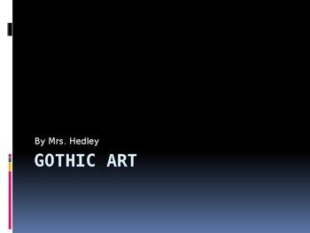 Gothic art PPT lecture (AP ART HIST)