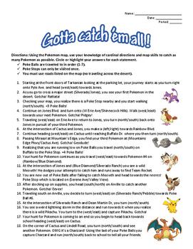 Gotta Catch 'Em All!: Pokemon Go Map Skills