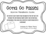 Gotta Go Pass: Restroom Management