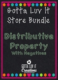 Gotta Luv It Distributive Property with Negatives Store Bu
