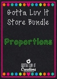 Gotta Luv It  Solving Proportions Bundle 25% Off