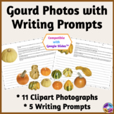 Gourd Photographs and Writing Prompts in Printable & Paper