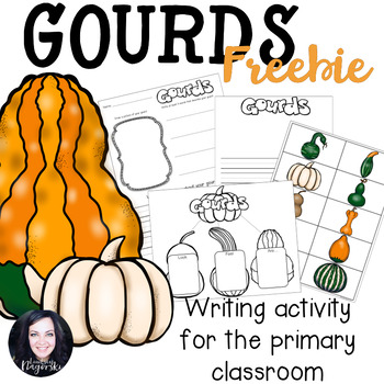 Gourd Writing Activity