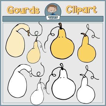 {Freebie} Gourds Clipart