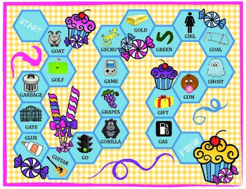 Gourmet Goodies /G/ Articulation Boardgame!