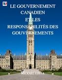 Gouvernement Canadien et responsabilités, French Immersion (#170)