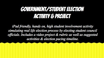 Goverment/Student Election Interactive & project