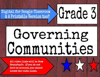 Governing Communities: Digital and Printable Versions