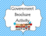 Branches of Government - Government Unit Brochure Activity