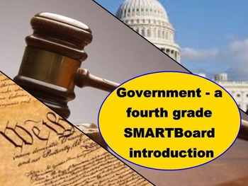 Government - A Fourth Grade SMARTBoard Introduction