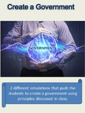 Government Activities: Create a Government!
