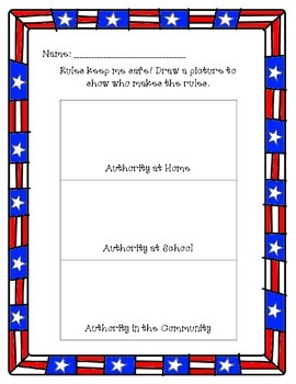 Government Activities for Kindergarten