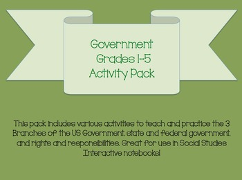 Government Activity Pack