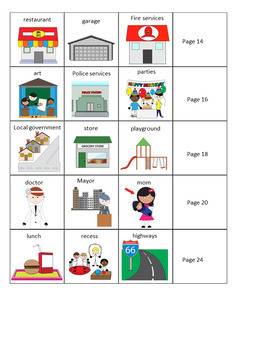 Government Adapted Book (Levels) For Autism and Special Education