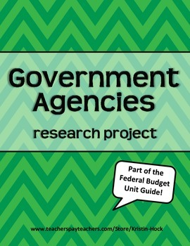 Government Agencies research project