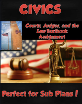 TCI Government Alive! Courts, Judges, & Law textbook work (Judicial Branch)