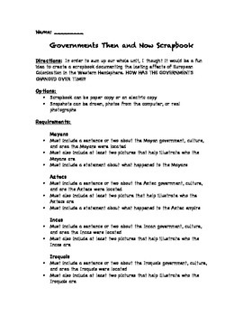 Government Assessment