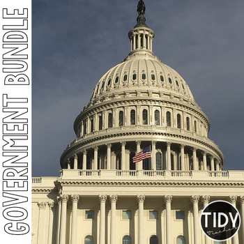 Government BUNDLE for Third Graders!