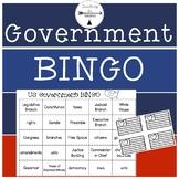 Government Bingo- Third Grade Social Studies
