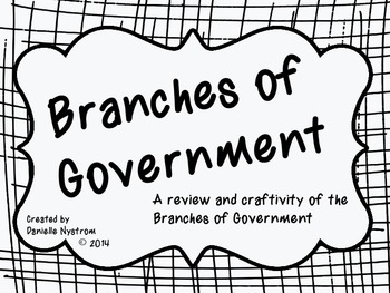 Government Branches Craftivity