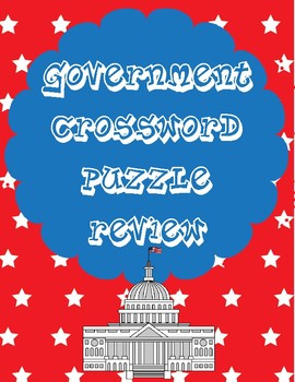 Government (Branches of Government) Crossword Puzzle Review