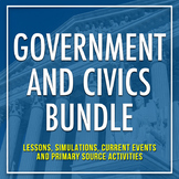 CIVICS & GOVERNMENT RESOURCES: The Bundle