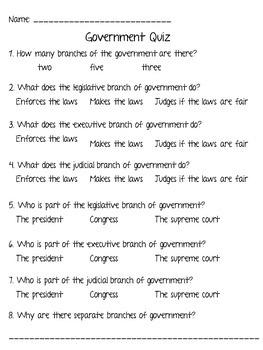Government Bundle