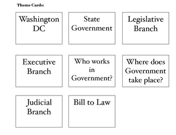 Government Card Game